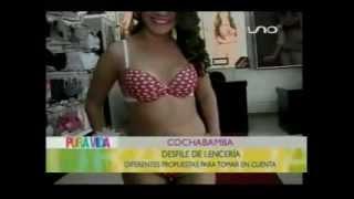 DESFILE DE LENCERIA PARA TOMAR EN CUENTA