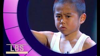 Meet mini-but-mighty Bruce Lee Kid Ryusei   Little Big Shots Aus Season 2 Episode 1