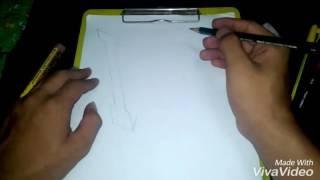 Lukisan 3D nama IHYA