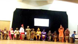 African Drummers Gold Winners.MOV