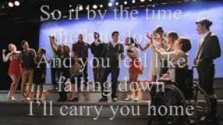 We Are Young Glee Lyrics