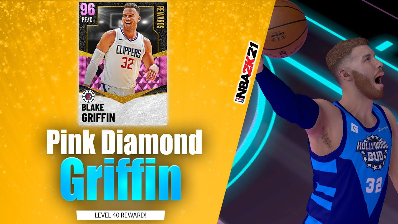 Bud22089 - Pink Diamond Blake Griffin Posters w/ Slasher Takeover! in Triple Threat Online! NBA 2K21 MyTeam