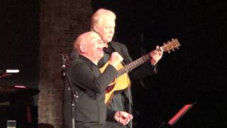 Art Garfunkel @The City Winery, NYC 4/22/17 Bridge Over Troubled Water