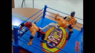 Lucha Libre CMLL Mistico Entrada Stop Motion