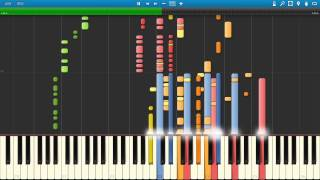 Synthesia Evangelion OP Cruel Angel's Thesis