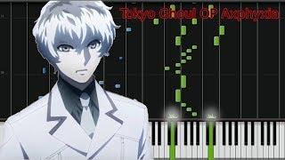 (Sheet Music!!!)東京喰種Tokyo Ghoul re: OP-asphyxia Piano(Sheet+Midi)