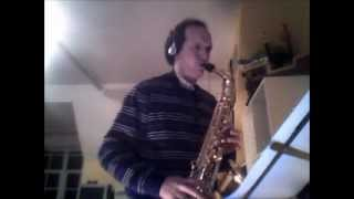 Because You Loved Me - Cover Alto Sax