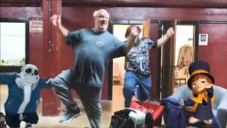 Jack Black & Kyle Gass Dance to Meglovania (Looping)