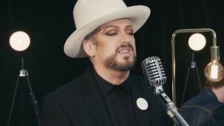 Boy George covers YMCA and asks Why Not?