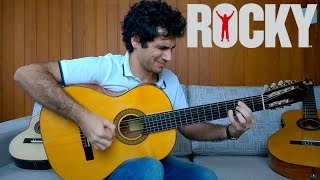 Gonna Fly Now (Theme from Rocky) - Fingerstyle Guitar (Marcos Kaiser) #57