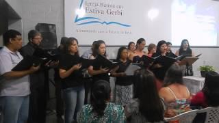 Coral da PIB Mogi Guacu em Estiva Gerbi - Salmo 142 - Com a Minha Voz Clamo ao Senhor