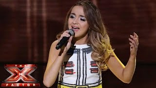 Lauren Platt sings One Direction's Story Of My Life | Live Semi-Final | The X Factor UK 2014