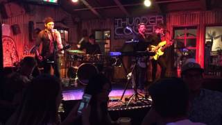 """Thunder Cover band introduction + """"Ain't No Rest for the Wicked"""" (Cage the Elephant cover)"""