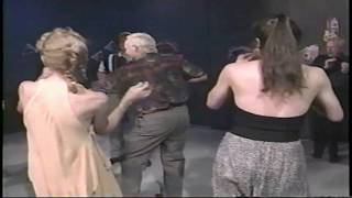 Soul Train Disco Line Dancing! Funny American TV Boogie Music Video!