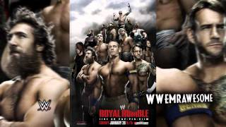 "WWE : Royal Rumble 2014 Official Theme Song - ""We Own It"" + Download Link"