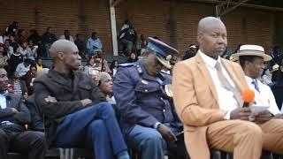 Police brass band lends colour to parade