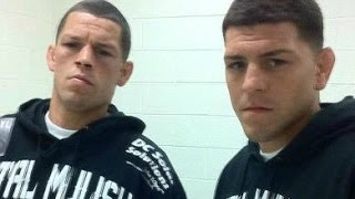 "UFC 189 Nick Diaz & Nate Diaz - ""WHY YOU MAD BRO?"" ft. George St Pierre"