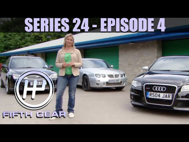 Image of Jonny drives a Range Rover through an airplane - Fifth Gear