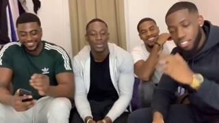 4 guys kupe dance appreciation video French to English Translation #kupechallange