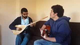Hey Onbeşli bağlama&gitar (caner-mustafa)