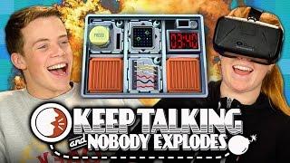 BOMB! Keep Talking and Nobody Explodes (REACT: Gaming)