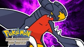 Pokemon Brick Bronze PVP - GARCHOMP SWEEP!
