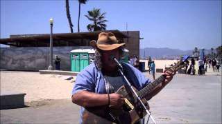 Rock Me On The Water performed by David Smith--street musician--www.davidwaltersmith.com