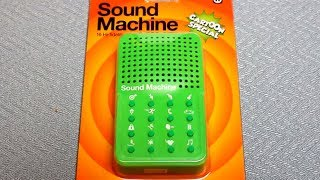 "Sound Machine ""Cartoon Special"" - Detailed Hands on review - all 16 sounds - By NPW"