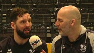 Tobias Karlsson im Talk mit York - SG- HC Erlangen