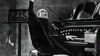 Horror sound effect church organ