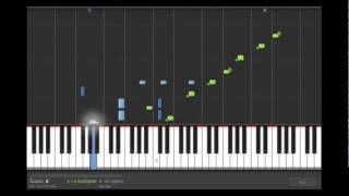 Piano Tutorial: Improvisation of Chopin Waltz, Secret Piano Duel 2