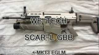WE-TECH SCAR-L + MK13 EGLM