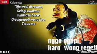 Lagu Kidung Wahyu kolosebo beserta Artinya