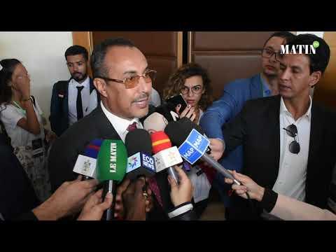 Video : Forum d'Affaires Maroc-France à Dakhla : Déclaration de Ynja Khattat, président de la région Dakhla-Oued Eddahab