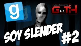 Slender Multiplayer #2 (Stop it Slender!) GMOD en Español - GOTH