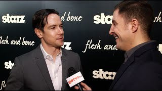 "Sascha Radetsky at the ""Flesh and Bone"" Premiere with Arthur Kade"