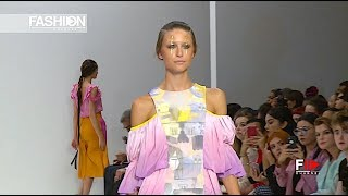 INIFD LST - ALISHA CHAMDIYA Spring Summer 2018 London - Fashion Channel