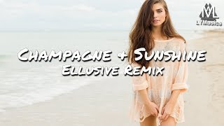Tarro & PLVTINUM - Champagne & Sunshine (Ellusive Remix) (Lyrics)
