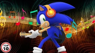 Top 10 Sonic Character Theme Songs width=