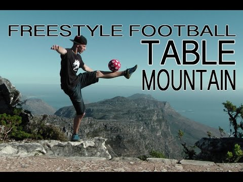 Freestyle Football Tricks On Table Mountain
