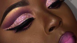 Issa  Glitter Cut Crease ? | Briana Marie
