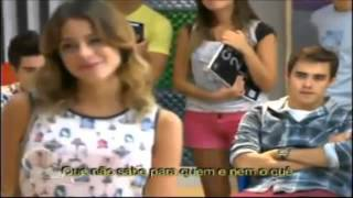 Diego canta Yo Soy Asi para Violetta Cap 47 Brasil