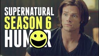 supernatural ● like half an hour ago [season6.humor]