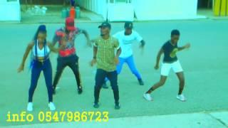 guru samba  dance video by obuasi nonstop dancers