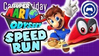 Super Mario Odyssey Speedrun | Casual Friday | Stream Four Star