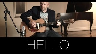 Hello (Adele) - Acoustic Guitar Solo Cover (Violão Fingerstyle)
