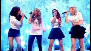 Little Mix - Cannonball (Live @ TOTP's Christmas 25/12/2011)