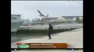 Lançamento FAIL do primeiro avião Drone não tripulado da Marinha Portuguesa