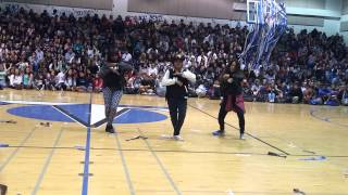 EXO Dance Cover (Remix) - Frontier High School Senior Rally