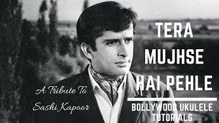 Tera Mujhse Hai Pehle | Kishore Kumar | Easy Ukulele Tutorial